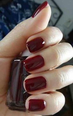 Bordeaux (Oxblood) Nails