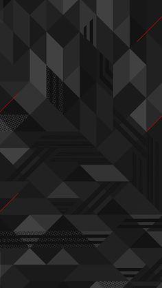 Black wallpaper - black wallpaper iphone 8 plus Geometric Wallpaper Iphone, Iphone 6 Plus Wallpaper, Hd Wallpaper Android, Images Wallpaper, Trendy Wallpaper, Dark Wallpaper, Mobile Wallpaper, Wallpaper Backgrounds, Phone Wallpapers
