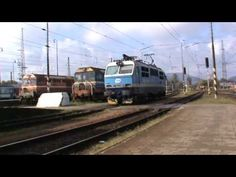 Posun lokomotivy ČD 151 001-5 - Žilina - 9.10.2016 - YouTube