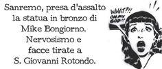 POSTilla 59: #Sanremo e la statua di Mike #Bongiorno
