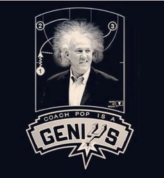 Coaching Genius Into Champions Over & Over, Always With Confidence =-= Go Spurs !! <3