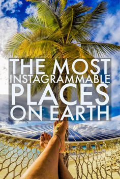 Spanning South America, North America, Antarctica, Africa, Europe, The Middle East, Asia , and Australia - here are the most beautiful places on earth!