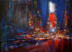 Dynamic Cityscapes Painted with Extreme Energy - by Van Tame - My Modern Metropolis