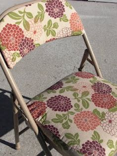 Gotta Try That: Recovered Folding Chairs