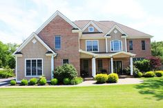 "Sunny Pond Wall twp NJ  Custom Builder's 6 Bedrm, 4 FULL Baths, 3 car garage Home on an acre & a half cul de sac property. Security system, custom Tile & Hardwood floors throughout; four custom baths, full basement roughed for plumbing, kitchen features black granite & 'Viking' stainless appliances with Ice maker. Tray ceiling in Master suite with old fashioned soaking tub and huge walk in closet. Paver stones patio around huge ""L"" shaped heated In-ground pool, electric retractable awning."