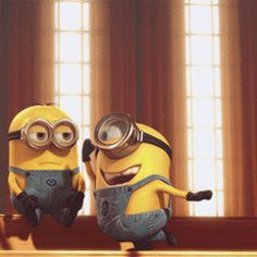despicable me animated GIF Amor Minions, Minion Gif, Despicable Minions, Minions Love, My Minion, Minions Images, Funny Minion Pictures, Funny Minion Memes, Funny Baby Memes