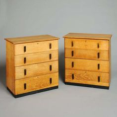 A pair of chests of drawers by Brynmawr - Catalogue - Core One