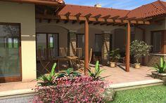 Fotka: Entrance, Pergola, Farmhouse, Outdoor Structures, Patio, Outdoor Decor, Home Decor, Luxury, Entryway