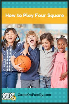 How to Play Four Square Fun Basketball Games, Houston Basketball, Basketball Birthday Parties, Basketball Plays, Kentucky Basketball, Basketball Drills, Kentucky Wildcats, College Basketball, Recess Games