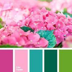 Ideas for bathroom paint pink color balance Colour Pallette, Color Palate, Colour Schemes, Color Combinations, Paint Schemes, Exterior House Colors, Exterior Paint, Exterior Siding, Design Seeds