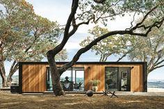 Design for Humankind - modern prefab. cabin - photo by Joe Fletcher