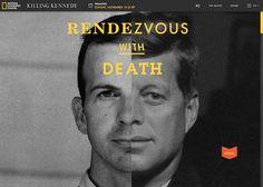 Killing Kennedy #webdesign #inspiration #UI