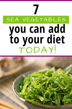Find out all about sea vegetables, the health benefits, the recipes you can use them in and even where they come from to add them to your diet Vegan Crab, Vegan Sushi, Food Tips, Food Hacks, A Food, Different Diets, Different Recipes, Sea Vegetables, Veggies