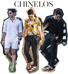 Hi, Buddies, Mais um Street Hits no ar com um assunto que sempre gera discussão: o uso de sandálias e chinelos no dia a dia pelos homens. Superapropriadas para o