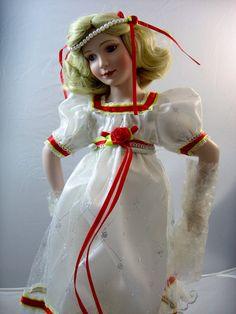 Vintage Clara Porcelain Doll Nutcracker Suite by EcleticVintage, $95.00