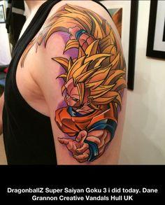 Los mejores tatuajes de Dragon Ball Z! El