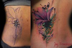 Jay Freestyle tattoo - true works of art