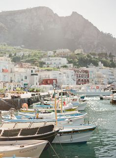 port of capri, italy <3