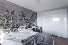 Une fresque sur un mur