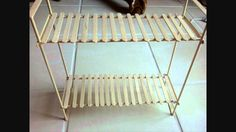 Doll Bunk Beds -- a tutorial on Youtube.