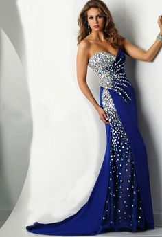 Rochie de ocazie sirena cu cristale aurora boreala COD R002