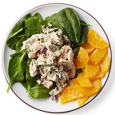 Mediterranean Tuna-Spinach Salad   10-minute meal alert! This easy tuna salad recipe gets an upgrade with olives, feta and a tahini dressing.