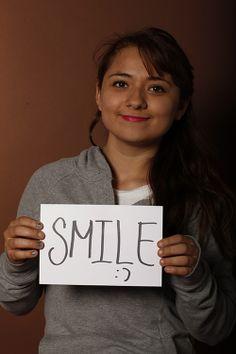 Smile, Zafiro Escalante, Estudiante, UMM, Monterrey, México