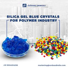 Silica gel is a non-toxic and porous form of silicon dioxide made synthetically from sodium silicate. In the polymer industry indicating silica gel is used for the indication when moisture absorbs. Contact us: www.swambe.com marketing@sorbeadindia.com +91 9904204266 #swambechemicals #moistureabsorber #polymerindustry #silicagel #moistureabsorber #crystal #indicatingsilicagel Thin Layer Chromatography, Chemical Industry, Silica Gel, Medicinal Plants, Blue Crystals, Decorative Bowls, Moisturizer, Pure Products, Marketing