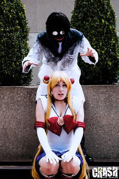 I'll Get You, Sailor Moon! by TheSilentShane #cosplay (Repinning for Professor Tomoe. Damn. O.O)