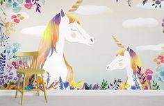 Unicorns - Peel and Stick