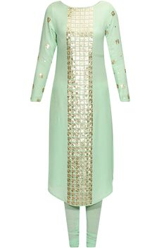 Mint green floral sequins embellished kurta set available only at Pernia's Pop Up Shop.#perniaspopupshop #shopnow #anushkakhanna#partyseason #happyshopping #designer #clothing #festive #weddings