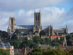 A view of the magnificent Lincoln Cathedral.......via Michelle Lawrence on Facebook.