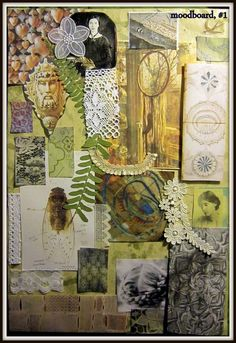 mood board - green and leafy Sketchbook Inspiration, Inspiration Wall, Sketchbook Ideas, Textiles Sketchbook, Textile Design, Mood Boards, Sketches, Crafts, Painting