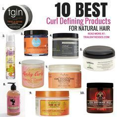 This is product junkie heaven. If you are struggling with defining your twist outs here are 10 of the best curl defining products for natural hair.