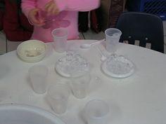Ice play in preschool from Teach Preschool
