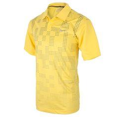 Nike Golf 2013 Men's Fashion Graphic Polo Shirt - Dandelion - £39.99