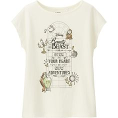 Uniqlo Partners With Disney on Beauty and the Beast Collection
