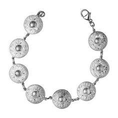Celtic Warrior Silver Bracelet