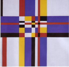 Charmion von Wiegand (1896-1983) was an American journalist, abstract painter, and art critic. In 1941 she met Mondrian and was very influenced by him.