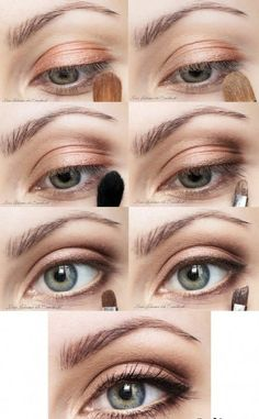 Top 10 Morning in-a-Rush Makeup Tutorials ---- Earth Colors Makeup