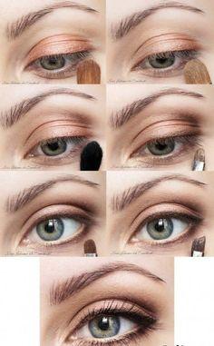 Top 10 Morning in-a-Rush Makeup Tutorials ---- Earth Colors Makeup