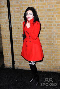 Siouxsie Sioux London Fashion Week A/W 2011