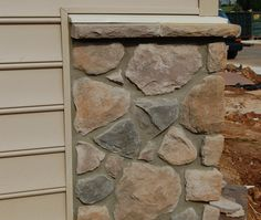 Add some design elements to your mailbox, retaining wall or home with Sakrete's Stone Veneer Mortar.