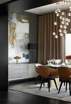 esszimmertisch mit stühlen gardinen ideen modern fertiggardinen