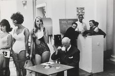 Beauty contestants, Southport, Merseyside, 1967 by Tony Ray-Jones