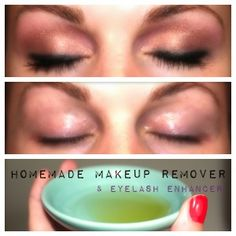 The DIY Makeup Remover that Makes Eyelashes Grow!