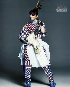 MINZY for Vogue (May) Magazine