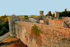 couvertoirade-Garde rempart Beaux Villages, Knights Templar, France, Kirchen, Monument Valley, Towers, Gates, Nature, Travel