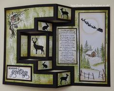 Sandma's Handmade Cards: Inkylicious Christmas on Hochanda