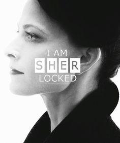 Sherlock BBC / Irene Adler- I am SHER Locked. If was an adder snake in Doyle& adventure if the speckled ban Sherlock Holmes, Fan Art Sherlock, Moriarty, Sherlock And Irene, Funny Sherlock, Watson Sherlock, Sherlock Quotes, Irene Adler, Lara Pulver